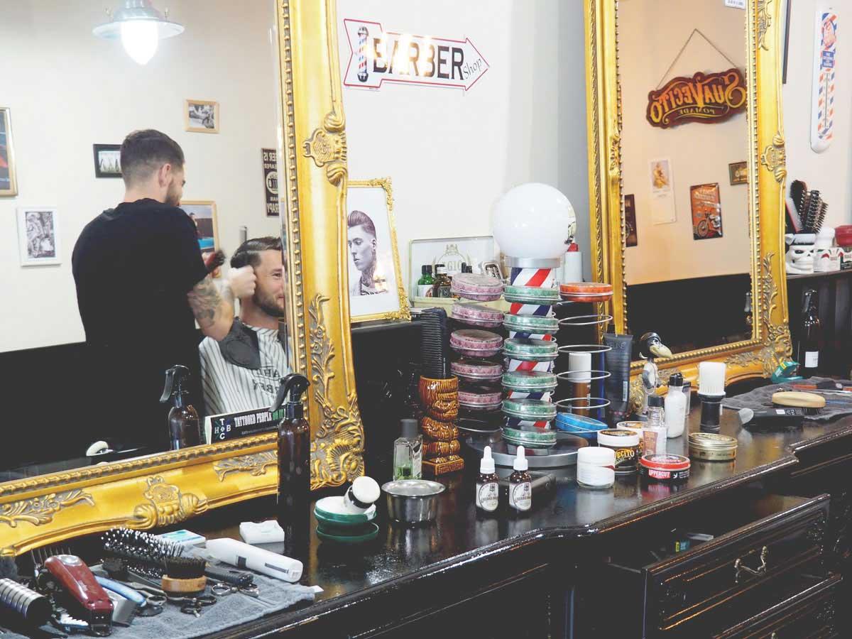 Barbier Jurgen in actie