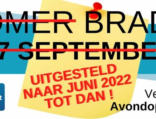 Braderij 2021 : Uitgesteld naar JUNI 2022!